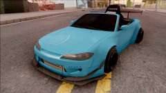 Nissan Silvia S15 Rocket Bunny Kart для GTA San Andreas
