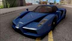 Ferrari Enzo 2002 Blue для GTA San Andreas