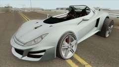 Ocelot Locust GTA V (Stock) IVF для GTA San Andreas