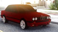 BMW E30 Original Red для GTA San Andreas
