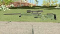 Winter Tactical Sniper Rifle (007 Nightfire) для GTA San Andreas