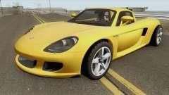 Porsche Carrera GT 2006 для GTA San Andreas