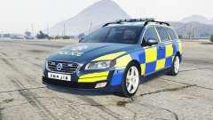 Volvo V70 2014 Essex Police для GTA 5