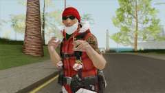 Dwayne The Santa Rock Johnson для GTA San Andreas