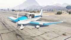 Robin DR-400 vivid sky blue для GTA 5