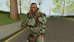 CJ (Doom 3 Style) для GTA San Andreas