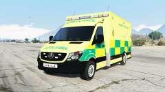 Mercedes-Benz Sprinter 2014 British Ambulance для GTA 5