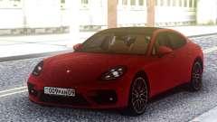 Porsche Panamera Turbo Red для GTA San Andreas