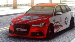 Audi RS 6 Beaten but not broken для GTA San Andreas