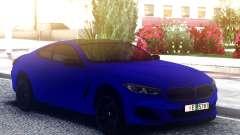 BMW 850i Blue для GTA San Andreas