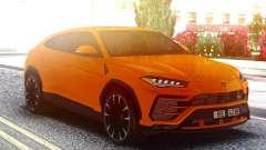 Lamborghini Urus Orange для GTA San Andreas