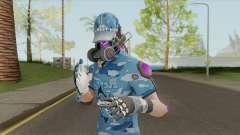 Creative Destruction - Blue Warrior для GTA San Andreas