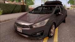 Kia Ceed Lowpoly для GTA San Andreas