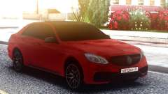 Mercedes-Benz E63 AMG W212 Red для GTA San Andreas