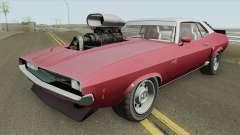Bravado Gauntlet Classic GTA V Custom Bonnet IVF для GTA San Andreas