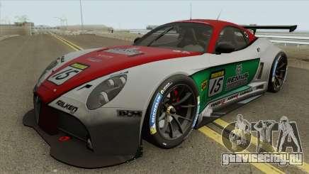 Alfa Romeo 8C Competizione GT3 2009 для GTA San Andreas