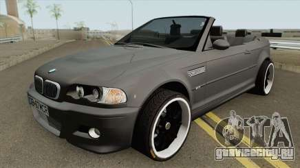 BMW M3 E46 Cabrio MQ для GTA San Andreas