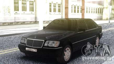 Mercedes-Benz W140 Original для GTA San Andreas