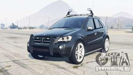 Mercedes-Benz ML 63 AMG (W164) 2009 FBI для GTA 5