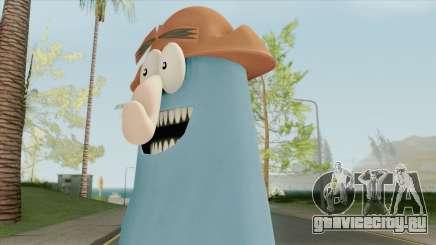 Captain Knuckles (Flapjack) для GTA San Andreas