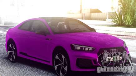 Audi RS5 Purple для GTA San Andreas