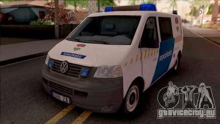 Volkswagen Transporter 5 Magyar Rendorseg для GTA San Andreas