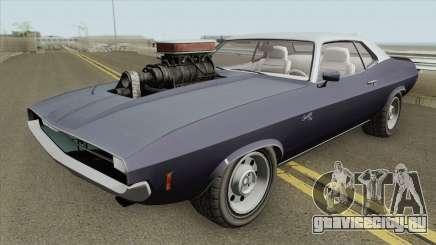 Bravado Gauntlet Classic GTA V Custom Bonnet для GTA San Andreas
