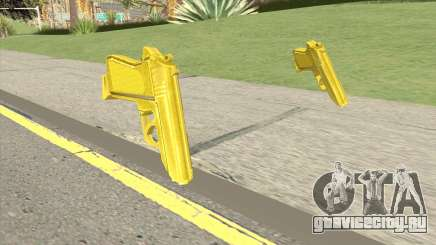 Wolfram PP7 Gold (007 Nightfire) для GTA San Andreas