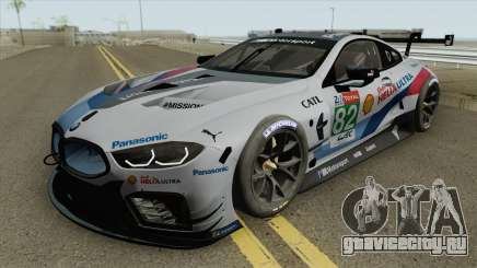 BMW M8 GTE 2018 High Quality для GTA San Andreas