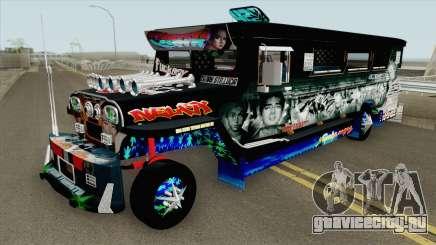 Castro Patok Jeepney для GTA San Andreas