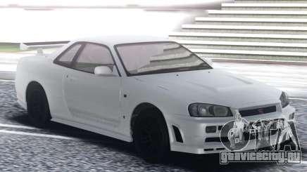 Nissan Skyline GT-R Nismo S-Tune для GTA San Andreas