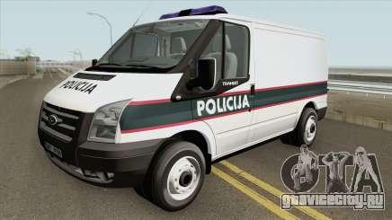 Ford Transit Policija MQ для GTA San Andreas