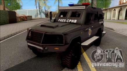 Toyota Land Cruiser Armadillo FAES-CPNB v1.0 для GTA San Andreas