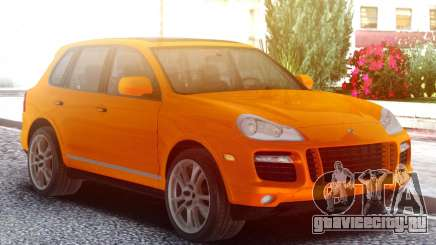 Porsche Cayenne Turbo S Orange для GTA San Andreas