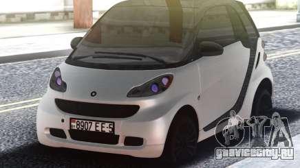 Smart ForTwo White для GTA San Andreas