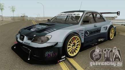 Subaru Impreza WRX STI Time Attack 2006 для GTA San Andreas
