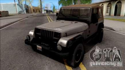 Jeep Wrangler 1988 для GTA San Andreas