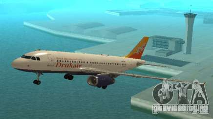 Друк Воздуха (Королевский Bhuth Цели Авиакомпаниями) Аэробус А319-100 для GTA San Andreas