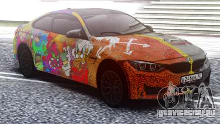 BMW M4 Two face для GTA San Andreas