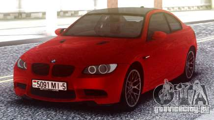 BMW M3 Original Red для GTA San Andreas