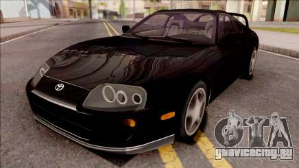 Toyota Supra Black для GTA San Andreas