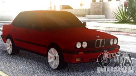 BMW E30 Original Red для GTA San Andreas