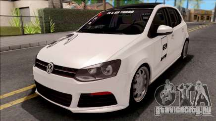 Volkswagen Polo 1.6 TDİ-R Black Smoke для GTA San Andreas