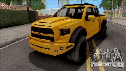GTA V Vapid Caracara 4x4 IVF для GTA San Andreas