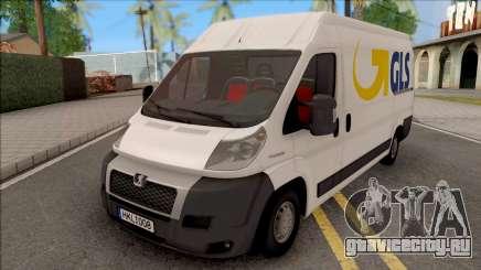 Peugeot Boxer GLS для GTA San Andreas