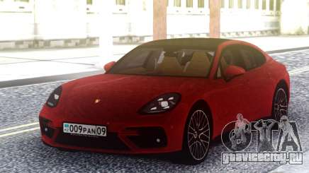 Porsche Panamera Turbo Red для GTA San Andreas