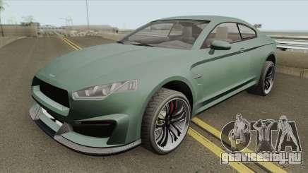 Obey 8F Drafter GTA V (Stock) для GTA San Andreas