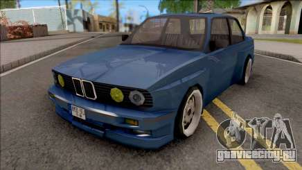 BMW E30 Fully Tunable IVF Lowpoly для GTA San Andreas