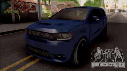 Dodge Durango SRT 2019 Lowpoly для GTA San Andreas