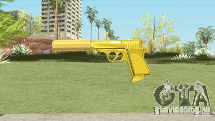 Wolfram PP7 Gold Silenced (007 Nightfire) для GTA San Andreas
